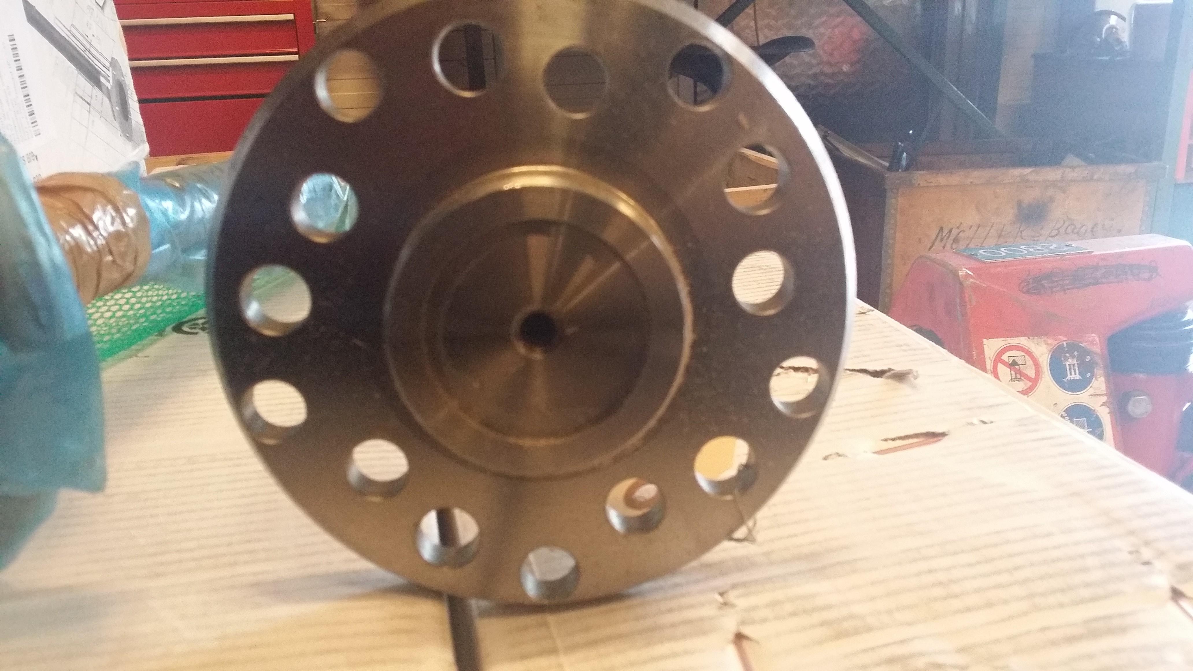 Drivaxel 30 splint Bult delning 5x4,5 5x5 5x5,5