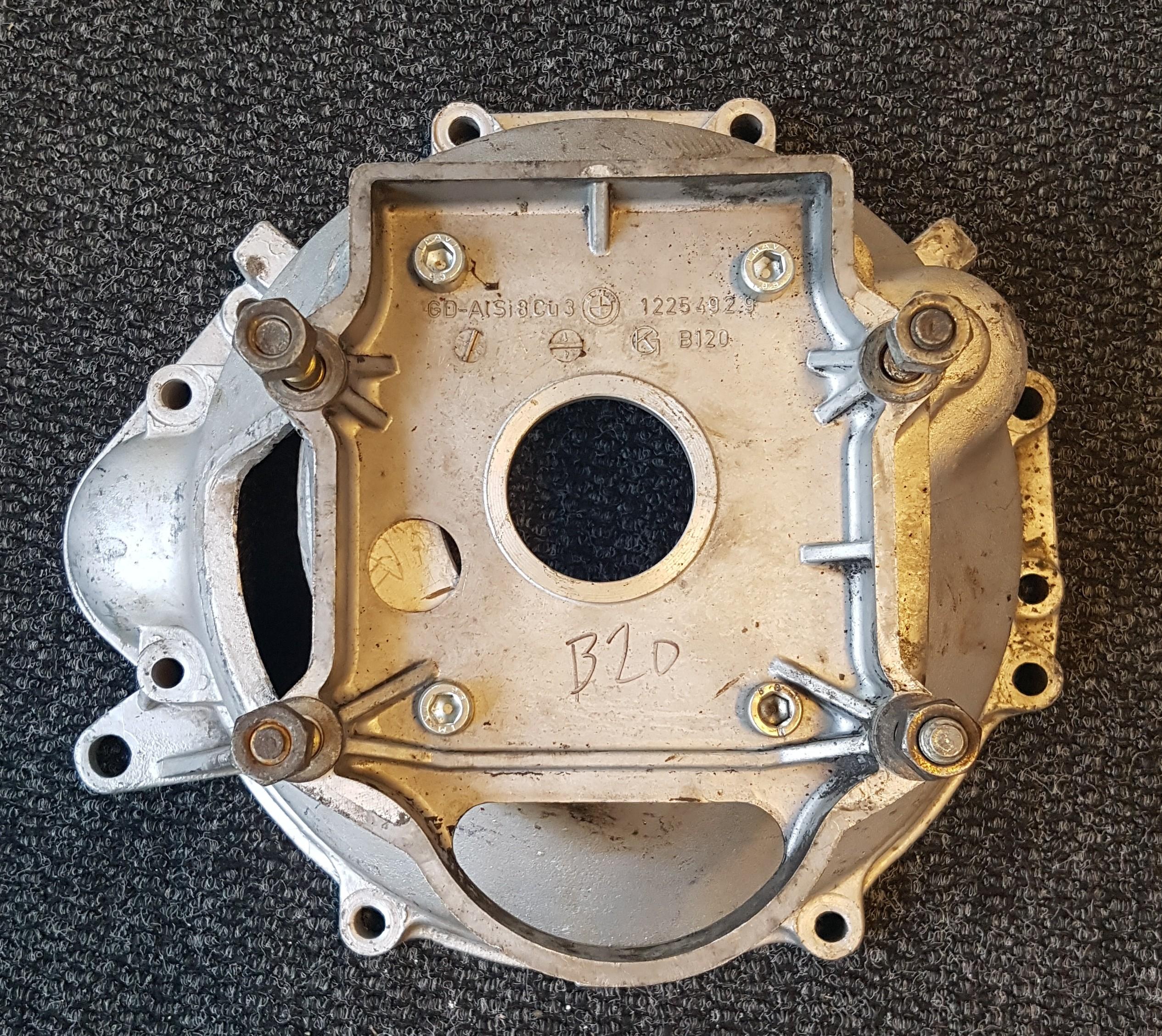 B20 sprängkåpa med adapterplatta