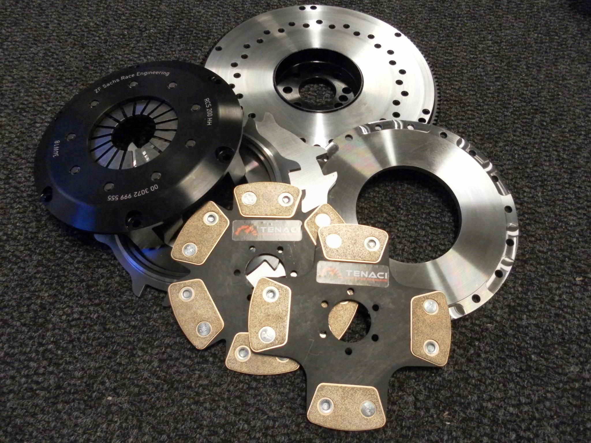 Tenaci / Sachs 200mm kit med svänghjul MB