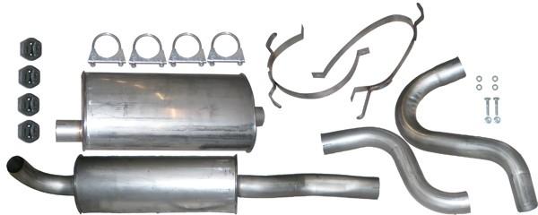 Volvo 740 / 745 GLT 16v, Turbo. Ø54 mmRostfritt Avgassystem Ferrita