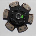 Tenaci Sinterlamell 6-puckad, fjädrad Toyota R154, 21 splines, 236mm