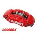 Bromsok LocoBRX 6-kolvs