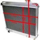 Aluminium kylare Cadilac 60-65