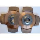 Sinterlamell 4-puckad, Ofjädrad, 10 splines, 35mm