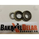 "Tapered axle bearing and seal kit, 3.150"" OD, for 9"" Ford."