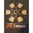 Sinterlamell 6-puckad, fjädrad, 10 splines, 265mm, Chevy