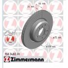 Bromsskiva bmw 330mm X 24 Pemium Zimmerman Coated