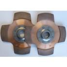 Rallylamell Tilton 4-puckad, 22 splines, 28,6 mm