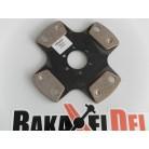 Tenaci rallylamell, 184 mm, 4-puckad, utan lamellnav