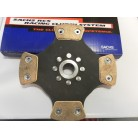 Sachs rallylamell, 200 mm, 4-puckad, 24 splines,25mm