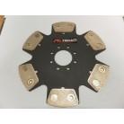Tenaci Sinterlamell 215mm 6-puckad, ofjädrad,utan nav
