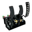 OBP Golvmonterat pedalställ 3 pedaler 3x huvudcylindrar