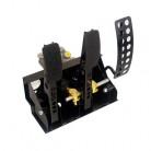 OBP Golvmonterat pedalställ 3 pedaler 2x huvudcylindrar (vajerkoppling)